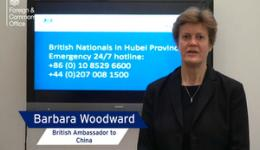 Ambassador's message to UK nationals in Wuhan and Hubei